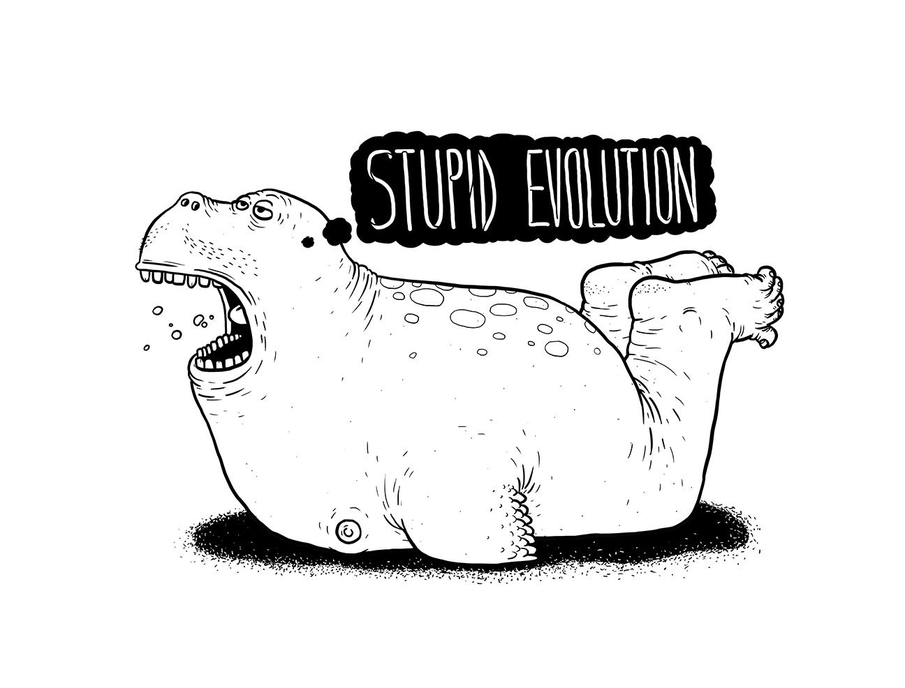 stupid evolution linnch