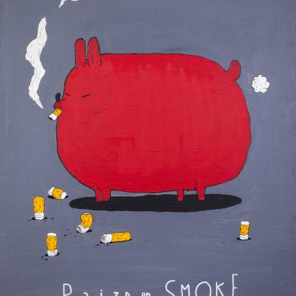 raised on smoke