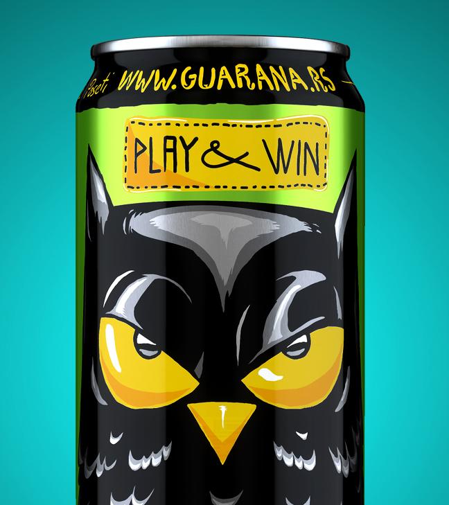 Guarana Energy drink – Play & Win