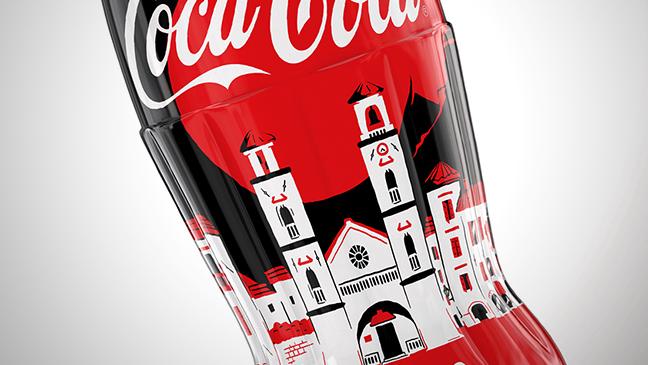 Coca Cola Kotor Bottle